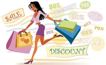 Retailers woo customers with heavy discounts