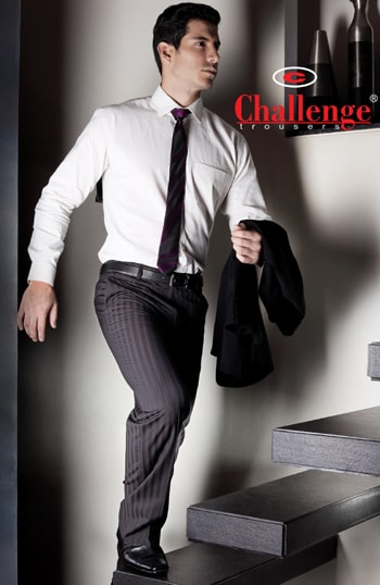 Challenge: Plans Zapata brand of fashion trousers